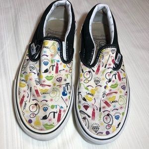 Vans make up limited edition slip ons
